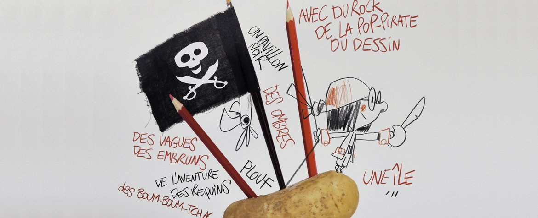 Pirate Patate par le Studio Fantôme